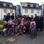 ドイツ国際平和村の子どもたちと一緒に