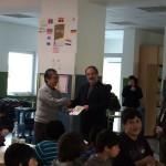 ドイツ国際平和村 寄附金贈呈式