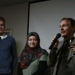 香川大学ノイマン先生とドイツ人留学生