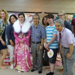 株式会社桂様にて着物の着付け体験