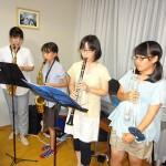 和田親子による演奏