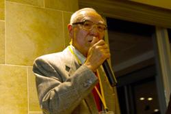 日独協会副会長・元在独日本大使 木村敬三氏 挨拶