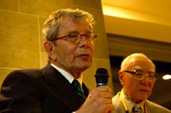 独日協会会長 Dr.Ruprecht Vondran氏 挨拶