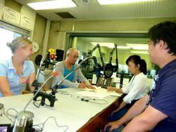 RNCラジオ生出演