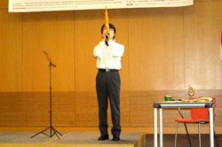 真鍋尚之さんによる雅楽(笙)の演奏
